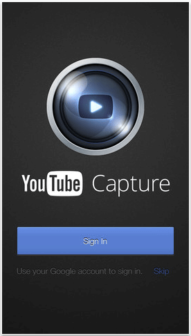 youtube capture for mobile video marketing