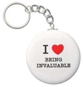 invaluable keychain