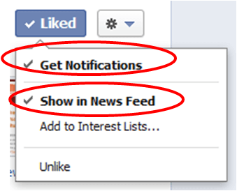 how to turn ticker back on facebook