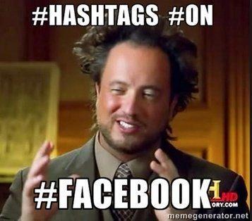 Hashatags on fb