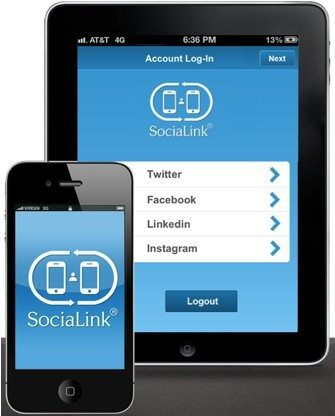 Say bye bye to business cards with the socialink app say bye bye to business cards with the socialink app colourmoves Choice Image