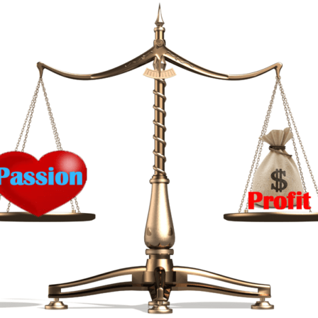 How to Properly Profit from Your Passion