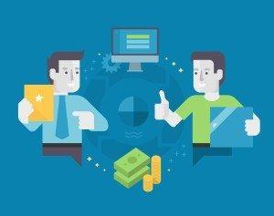 E-commerce Marketing Concept