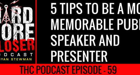 5 TIPS TO BE A MORE MEMORABLE PUBLIC SPEAKER AND PRESENTER